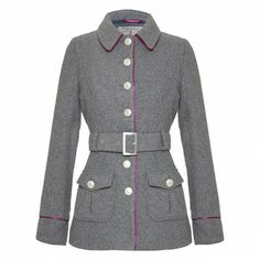 CARALEE - Short semi-fitted jacket - Coats & Jackets from Ness Clothing