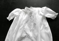 Vintage Edwardian Christening Gown with by Vintagefrenchlinens, $250.00