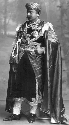 Bhagvatsingh Sahib, Maharajah of Gondal_1911, India.