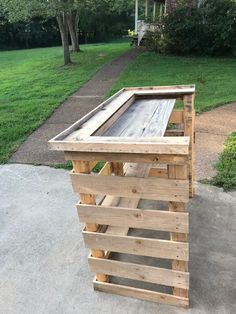 Pallet Wood Bar Outdoor Pallet Projects Wooden Pallet Furniture