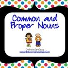 bundle of activities for common and proper nouns