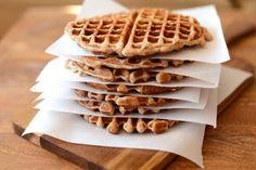 Apple Cinnamon Oatmeal Waffles Recipe to Make Frozen Waffles at Home