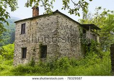 Image detail for -Old Stone House At Skotino Village Of Greece Stock Photo 78329587 ...