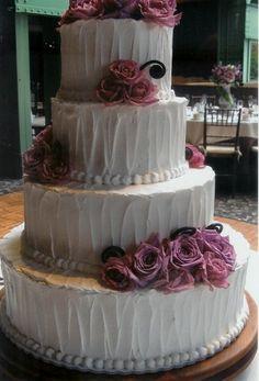 Non Fondant Wedding Cakes | ... Bakery Photo Gallery | Non Fondant Wedding Cakes | Textured Icing