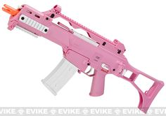 H&K G36C Pink Custom Limited Edition Full Size Metal Gearbox Airsoft AEG by Umarex Elite Force, Airsoft Guns, Evike Custom Guns, Other Series Custom Guns, G36 / MK36 Series - Evike.com Airsoft Superstore