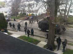 @rileymoskal7: Entire city of Boston on lockdown, hats off to the Boston police force #1down1togo  3:10 PM - 19 Apr 2013