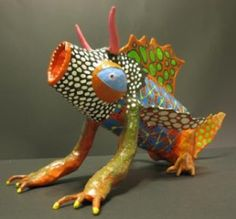 Alebrije autor pendiente➕More Pins Like This At FOSTERGINGER @ Pinterest✖️