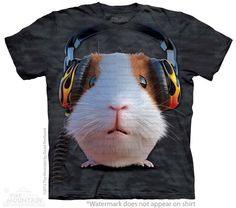 DJ Guinea Pig T-Shirt - 30% DISCOUNT ON ALL ITEMS - USE CODE: CYBER  #Cybermonday #cyber #discount