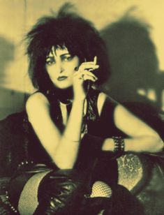 Siouxsie Sioux doesn't have time for boring people or boring clothes.