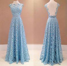 Vestido Madrinha Azul