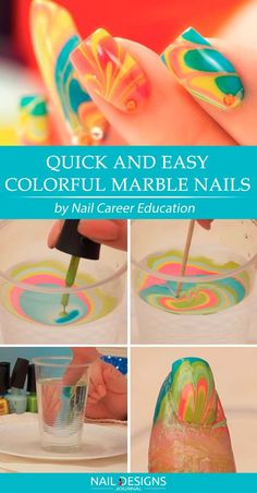 Water Marble Nails Tutorials You Can Repeat at Home ❤️ Quick And Easy Colorful Marble Nails ❤️ Water marble nails are fancy and charming, we all know that. These easy and effective tutorials that we have gathered here will surely come to your taste!https://naildesignsjournal.com/water-marble-nails/ #naildesignsjournal #nails