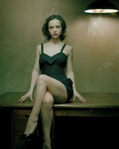 im told once a week by strangers I look like her. I should meet her to see in person Christina Ricci