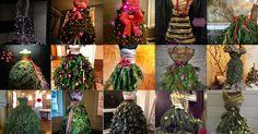 We zagen de kerstboom jurk steeds vaker voorbij komen en besloten om er een mooie lijst van te maken. Het resultaat zie je hieronder. Lekker modern of niks voor jou? Onze vraag is daarom