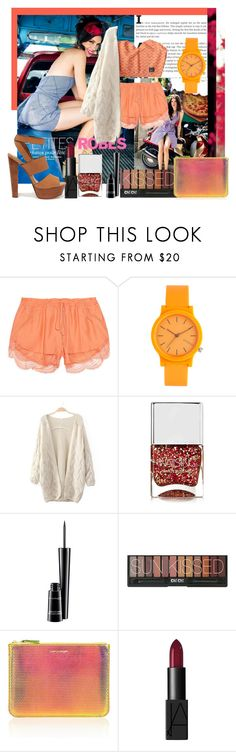 """Sans titre #45"" by tk88 ❤ liked on Polyvore featuring beauty, Lover, Komono, Nails Inc., MAC Cosmetics, Comme des Garçons, NARS Cosmetics and Steve Madden"