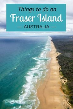 12 things to do on Fraser Island in Australia. Plus tips on how to get there, where to stay, tours, and hiring a 4wd vehicle