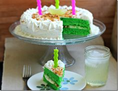 Key Lime Margarita Cake
