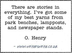 Quotable - O. Henry - Writers Write