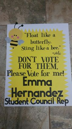 Funny Class Officer Poster Ideas from i.pinimg.com