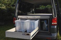 VW T5/T6 Transporter - TRAVEL-SLEEP-BOX