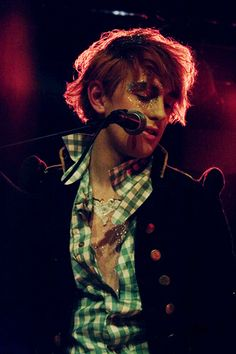Patrick Wolf. 3 gigs, met him last year. His words, his music colour my life.
