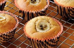 Banana Muffins - Quick and so easy to make, warm muffins are ideal for a mid-morning sweet treat with a cup of coffee. This recipe needs really ripe bananas – the riper the better as the flesh will be easier to mash and is packed full of sweetness and flavour.