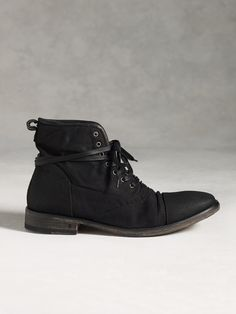 7961f4f2f46 Fleetwood Lace Boot - BLACK by John Varvatos