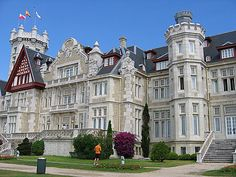 Palacio de la Magdalena in Spain. TV series Gran Hotel was filmed there.