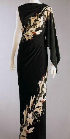 Schiaparelli 1935 robe-sari