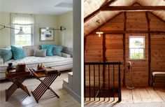 Steven_gambrel_new-sag-harbor-8.  IDEAL furnishing for a tiny loft-like space