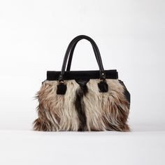 goat hair doctors bag by Deadly Ponies NZ