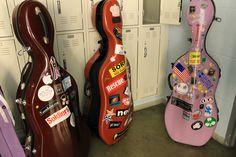 more cello cases