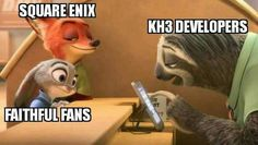 """- Disney's """"Zootopia"""" -- which tells a story of a female rabbit who defies her haters to become a police officer, was named the Best Animated Feature film Kingdom Hearts Funny, Kingdom Hearts Art, Managed It Services, Shall We Date, Disney S, Feature Film, Best Games, Final Fantasy, Nerdy"""