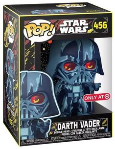 Pop S, Pop Vinyl, Bobble Head, Funko Pop, Star Wars, Darth Vader, Stars, Retro, Fictional Characters