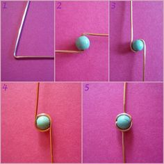 Saturn Wrap: Bead wire wrap for links or chain