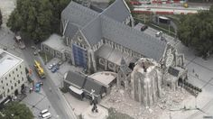 Christchurch Cathedral  after