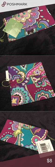 NWT Vera Bradley Checkbook Cover New with tags attached  Vera Bradley checkbook cover Vera Bradley Bags Wallets