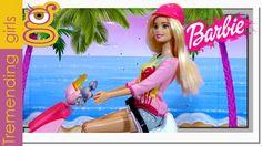 Nueva moto de Barbie Glam Scooter con Chelsea - vídeos de Barbie en Español