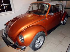 Roland Holm, from Wallsee-Sindelburg, Austria. Owner of 3 VW Cabriolets: a 1949 Hebmüller, a 1956 Inca Red Oval Convertible and a 1978 1303 Brazil Brown Metallic L96F Karmann Cabriolet.