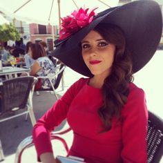 Carmen Vivar chapeau. www.carmenvivar.com #pamela #wedding #invitada #boda