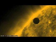 NASA SDO - Venus and Coronal Loops