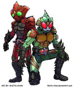 Kamen Rider Amazons by Waito-chan