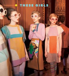 These Girls is part of fashion Photography Fantasy W Magazine - Adelaide, Pearl, Eloise, and Lottie shape their free time around drinking spritzers Read 1960s Fashion, Look Fashion, High Fashion, Vintage Fashion, Modern 50s Fashion, Fashion Outfits, Victorian Fashion, Modest Fashion, Trendy Fashion