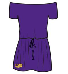 Ketch the Spirit, Game Day Boutique - LSU Dresses, Louisiana State University Dresses, Louisiana State University Clothing, Louisiana State University Tops, Louisiana State University Clothes, Louisiana State University Apparel, Louisiana State University Dress, Louisiana State University Clothing for Women, Designer Louisiana State University Clothing