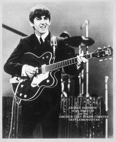 The Beatles and Beyond – George's Guitars Beatles Guitar, The Beatles, Beatles Photos, Chet Atkins, Music Genius, Twist And Shout, Stevie Ray, Stevie Nicks, Best Friends For Life