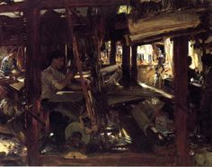 SINGER SARGENT Granada. The Weavers