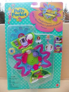 Vintage Polly Pocket Super Rare , Polly Pocket Totally Flowers Boutique Daisy Dressmaker , 1997 Bluebird Toys Polly Pocket #17916 New in Box by ShersBears on Etsy