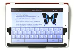 TouchFire - screen-top keyboard for iPad