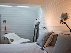 Chambre blanc moderne