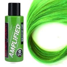 Manic Panic Amplified Hair Dye, Electric Lizard at I Kick Shins