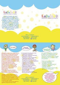 Brochure LuDolaBò, Servizi per l'infanzia e la famiglia